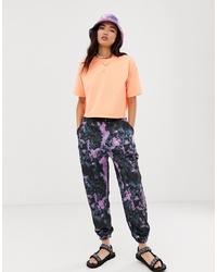 Pantalon de jogging imprimé tie-dye multicolore ASOS DESIGN
