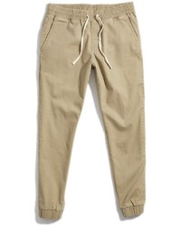 Pantalon de jogging marron clair