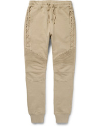 Pantalon de jogging marron clair Balmain