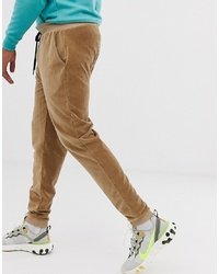 Pantalon de jogging marron clair Collusion
