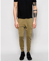 Pantalon de jogging marron clair Pull&Bear