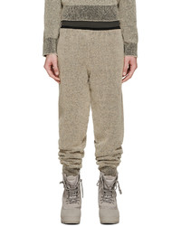 Pantalon de jogging marron clair Yeezy