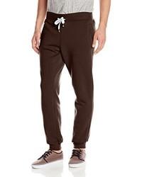 Pantalon de jogging marron foncé