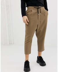 Pantalon de jogging marron ASOS DESIGN