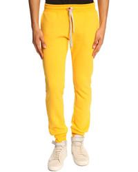 Pantalon de jogging moutarde
