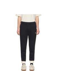 Pantalon de jogging noir et blanc AMI Alexandre Mattiussi