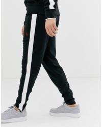 Pantalon de jogging noir et blanc Polo Ralph Lauren