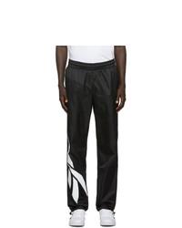 Pantalon de jogging noir et blanc Reebok Classics