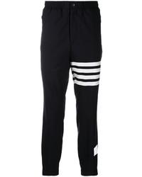 Pantalon de jogging noir et blanc Thom Browne