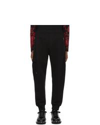 Pantalon de jogging noir Alexander McQueen