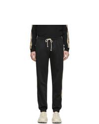 Pantalon de jogging noir Gucci
