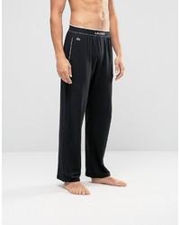 Pantalon de jogging noir Lacoste