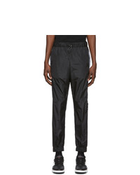 Pantalon de jogging noir Marcelo Burlon County of Milan
