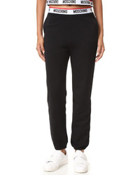 Pantalon de jogging noir Moschino