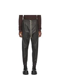 Pantalon de jogging noir Rick Owens