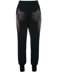 Pantalon de jogging noir Stella McCartney
