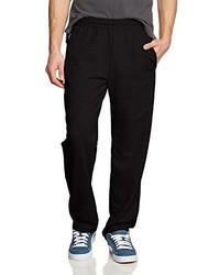 Pantalon de jogging noir Trigema