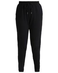 Pantalon de jogging noir Zizzi