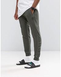 Pantalon de jogging olive adidas