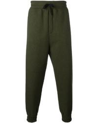 Pantalon de jogging olive AMI Alexandre Mattiussi