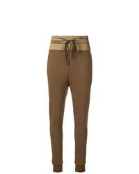 Pantalon de jogging olive Ann Demeulemeester