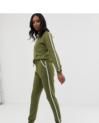 Pantalon de jogging olive Asos Tall