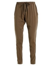 Pantalon de jogging olive Cream