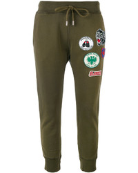 Pantalon de jogging olive Dsquared2