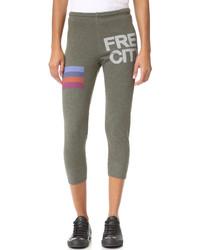 Pantalon de jogging olive Freecity