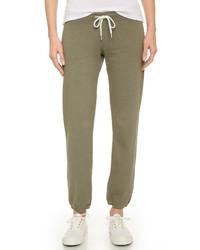 Pantalon de jogging olive Monrow