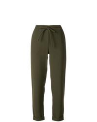 Pantalon de jogging olive P.A.R.O.S.H.
