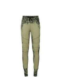 Pantalon de jogging olive PIERRE BALMAIN
