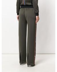 Pantalon de jogging olive Versace
