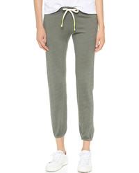 Pantalon de jogging olive Sundry