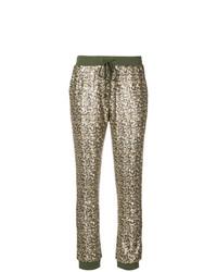 Pantalon de jogging olive Twin-Set