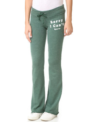 Pantalon de jogging olive Wildfox Couture