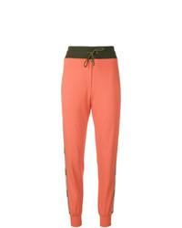 Pantalon de jogging orange Mr & Mrs Italy