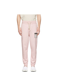 Pantalon de jogging rose Maison Margiela