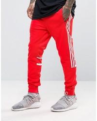 jogging hommes adidas rouge