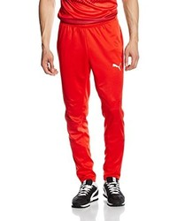 Pantalon de jogging rouge Puma
