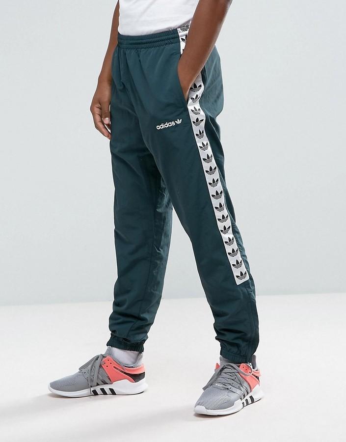 Pantalon de jogging vert foncé adidas