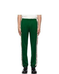 Pantalon de jogging vert foncé Gucci
