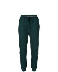 Pantalon de jogging vert foncé Lorena Antoniazzi