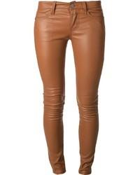 04f16c3dbb Acheter pantalon en cuir marron femmes: choisir pantalons en cuir ...