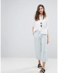 Pantalon en denim blanc French Connection