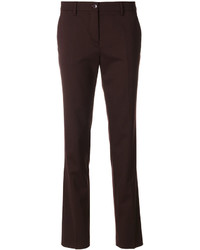 Pantalon en laine bordeaux Etro
