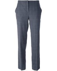 Pantalon en laine gris foncé Salvatore Ferragamo