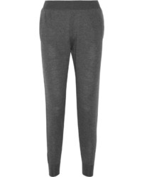 Pantalon en laine gris foncé Stella McCartney