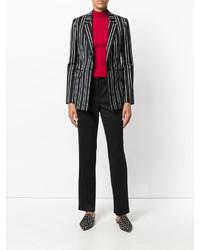 Pantalon en laine noir Giorgio Armani