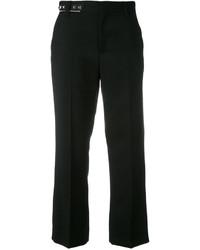 Pantalon en laine noir Marc Jacobs